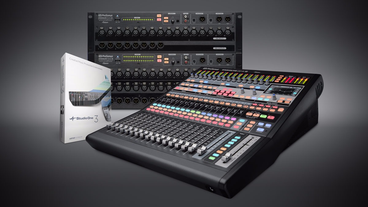 PreSonus AVB Mix Systems