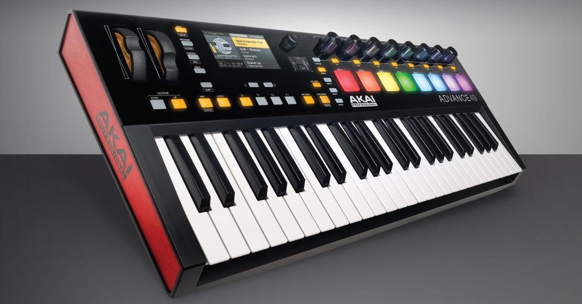 Recenze klaviatur AKAI Advance