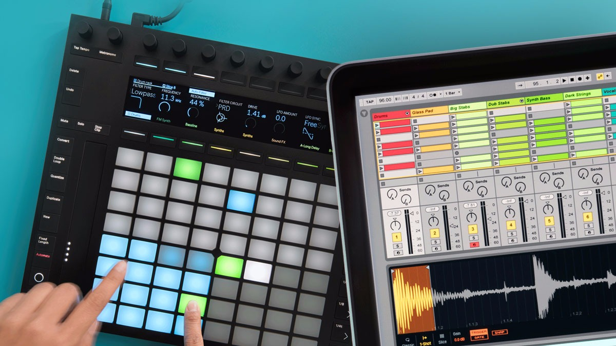Recenze: Ableton Push2 & Live 9.5